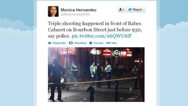 Cuatro heridos en un tiroteo durante el Mardi Gras de Nueva Orleans