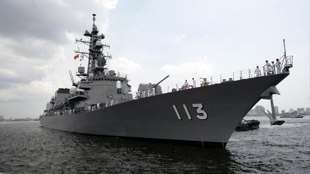 Buques chinos atraviesan por primera vez el estrecho de La Pérouse cerca de Japón