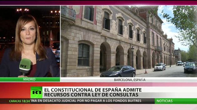 El Tribunal constitucional de España suspende la ley catalana que contempla la consulta soberanista