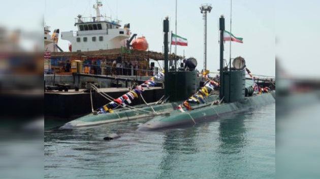 Irán incorpora dos minisubmarinos 'invisibles' de fabricacción propia