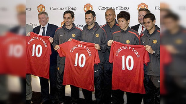 Manchester United prefiere los vinos chilenos