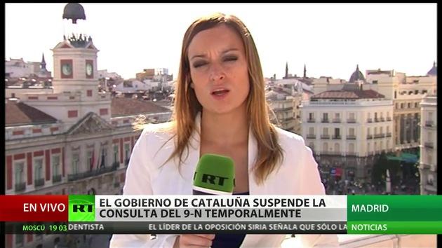 Cataluña suspende la campaña institucional para el referéndum del 9N