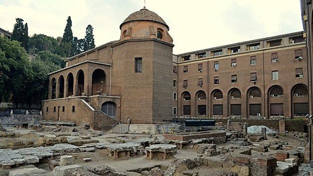 La Ciudad Eterna desentierra el templo romano más antiguo, dedicado a Fortuna