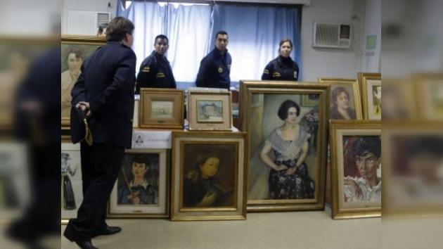 Encontrados 77 cuadros robados en Argentina