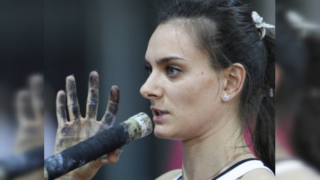 Yelena Isinbáyeva es favorita para ganar el oro en Doha