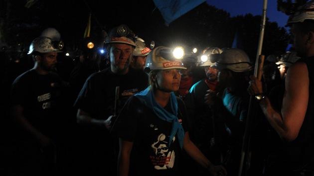 De las minas a la capital: la marcha de los mineros españoles llega a Madrid