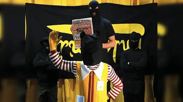 En Finlandia secuestraron a Ronald, la mascota de McDonald's