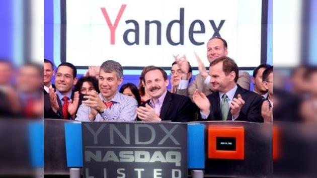 El buscador ruso Yandex consigue una brillante actuación en el Nasdaq