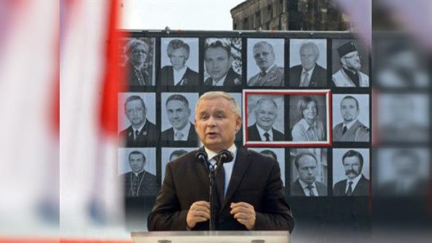Jaroslaw Kaczynski puso en duda la autenticidad de los restos de su hermano