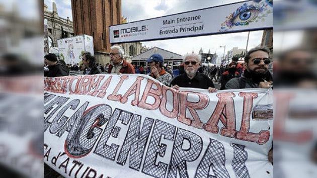 España: 40 ciudades en pie de lucha contra los recortes que impone la UE