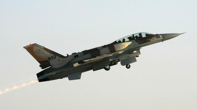 Dos aviones de combate israelíes violan el espacio aéreo del Líbano