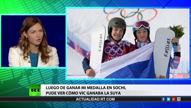Entrevista con Vic Wild y Aliona Zavárzina, campeones olímpicos de Sochi en snowboard