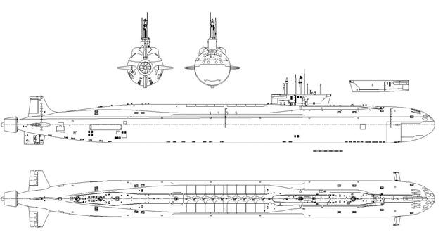 Rusia empezará a construir dos submarinos atómicos en 2013