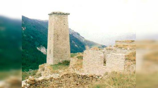 Chechenia restaura sus antiguas torres medievales