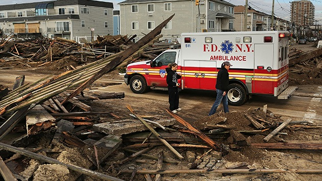 La cifra de víctimas mortales de Sandy asciende ya a 111
