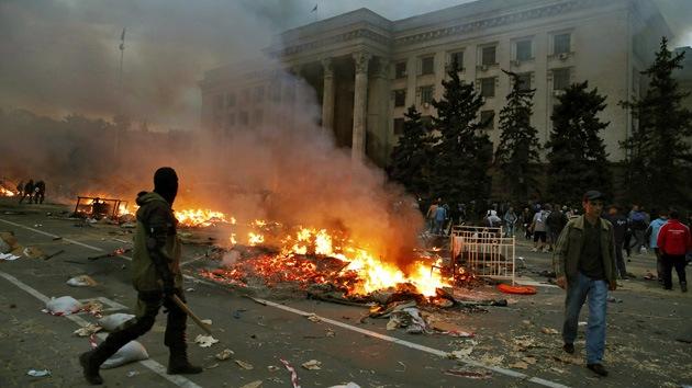 """Supervivientes de Odesa a RT: """"No nos permitirán salir vivos de aquí"""""""