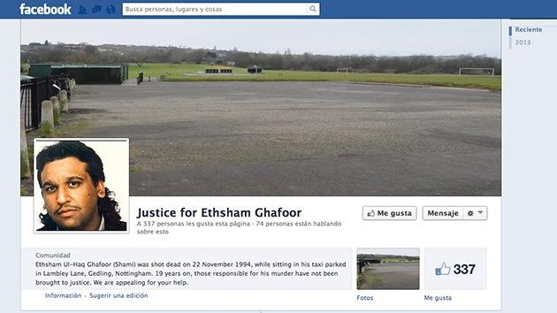 La familia de un hombre asesinado en 1994 recurre a Facebook para dar con el homicida