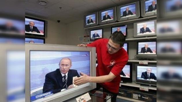 Putin hablará en vivo con los ciudadanos