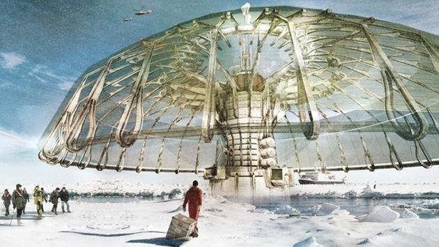 'Paraguas polar', un curioso proyecto futurista para proteger el hielo de los polos