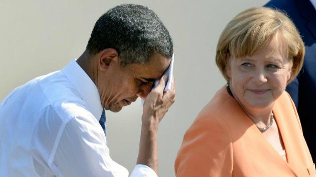 """NSA: Obama """"no sabía"""" del espionaje contra Angela Merkel"""