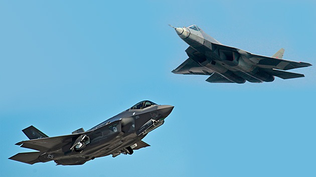"""""""El F-35 de EE.UU. es una presa fácil para los T-50 rusos"""""""