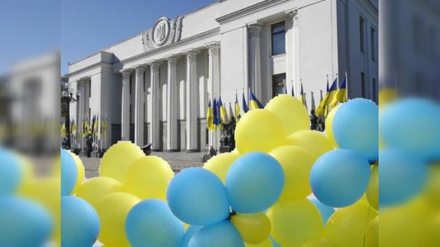 Ucrania celebra un pequeño aniversario de un gran evento