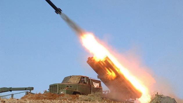 Corea del Norte prueba dos misiles de corto alcance en el mar de Japón