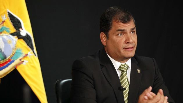 """""""Ecuador no integrará la Alianza del Pacífico"""" mientras Correa sea presidente"""