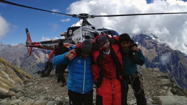 Video: Avalancha en el Himalaya nepalí deja varios alpinistas muertos