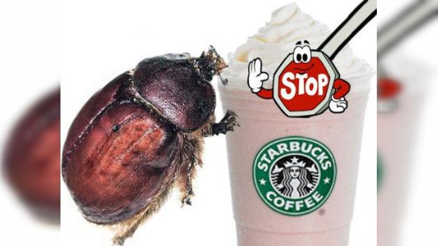 Los vegetarianos logran que Starbucks renuncie al uso de insectos en sus cafés