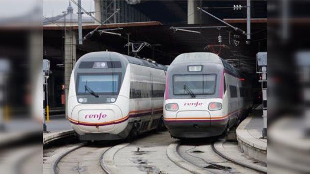 Trenes españoles se unen a las huelgas de fin de año en Europa