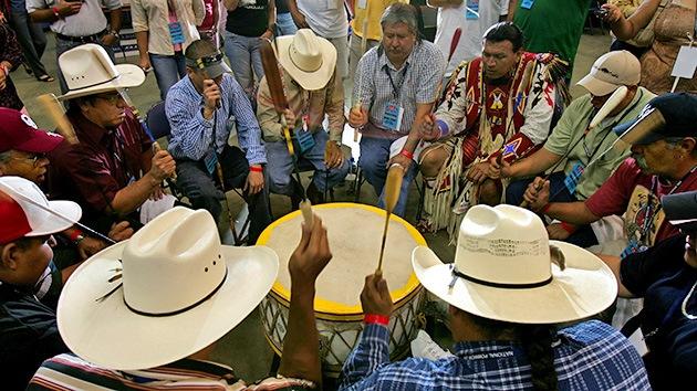 """""""Genocidio ecológico"""": indígenas abandonan negociaciones por el oleoducto Keystone XL"""