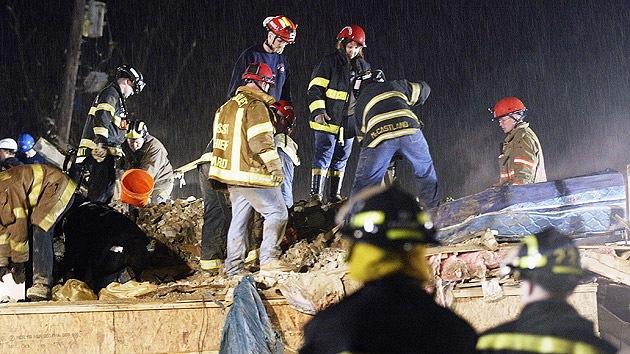 EE.UU.: Varios atrapados tras el derrumbe de un edificio residencial en Chicago