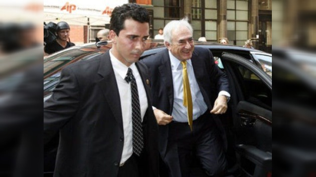 Strauss-Kahn acaricia la libertad