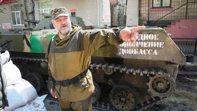 Las repúblicas del este de Ucrania forman su primera división de tanques