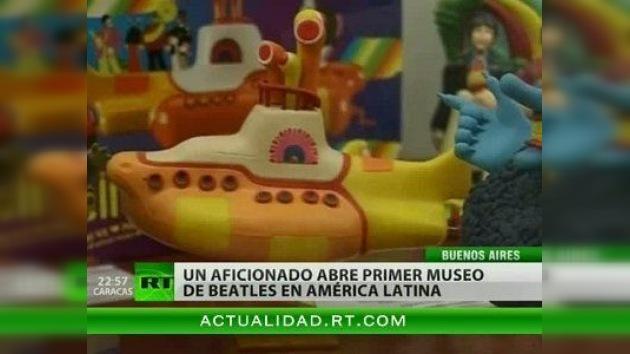 Un entusiasta abrió el primer museo de The Beatles en América Latina