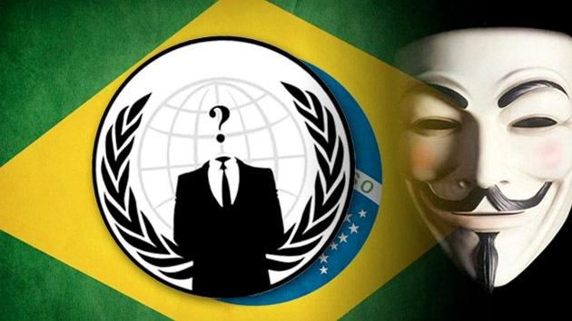 Anonymous protesta contra el Mundial y 'hackea' portales del Gobierno brasileño