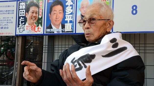 Un japonés de 94 años usa los ahorros para su funeral para presentarse a las elecciones