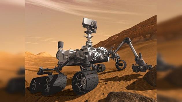 Despega el robot de la NASA que buscará vida en Marte