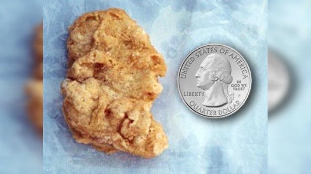 Subastan por miles de dólares un 'nugget' con el perfil de George Washington