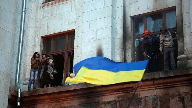 EE.UU. pide que Kiev investigue los sucesos en Odesa