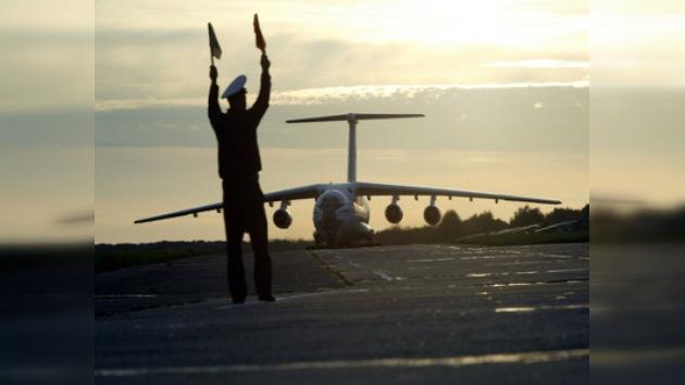 El segundo avión ruso con ayuda humanitaria llega a China
