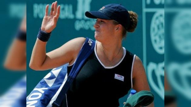 Tenista rusa vence al cáncer y vuelve ilusionada a las canchas