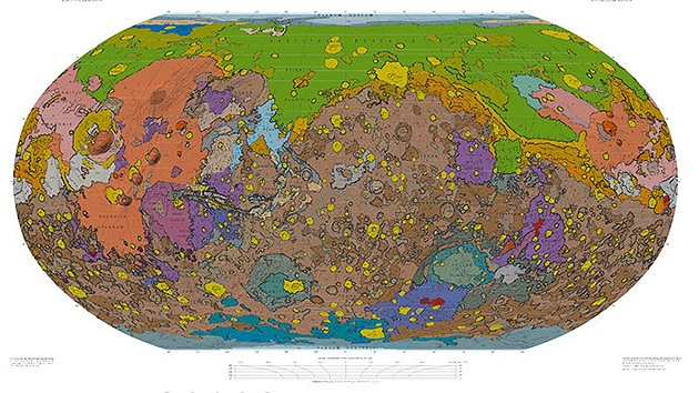 Video: Presentan un mapa geológico de Marte jamás trazado