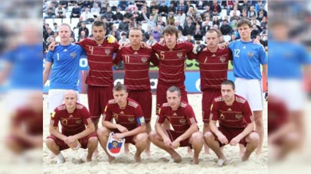 Rusia derrotó a España en fútbol de playa