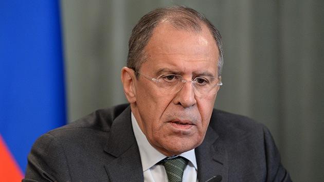 Lavrov: En la OTAN el ambiente rusófobo empieza a prevalecer sobre la seguridad