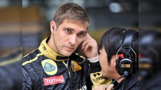 Vitali Petrov rompe el silencio y critica a su equipo Renault