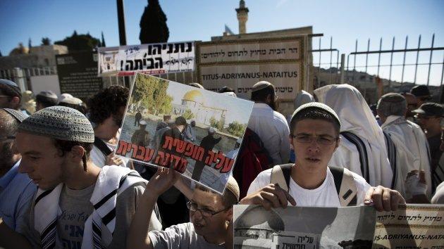 Rezos israelíes entre rumores de intifada