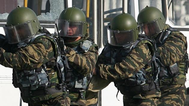 Servicios de inteligencia realizan una operación antiterrorista en una ciudad rusa