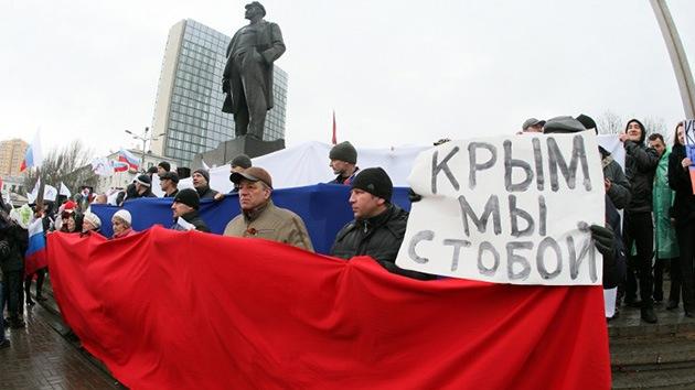 Otras regiones de Ucrania miran de reojo a Crimea y se cuestionan su autonomía